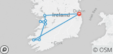 Ireland\'s Wild Atlantic Way Guided Rail Tour  - 8 destinations