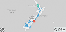 New Zealand Discoverer (2020) - 14 destinations