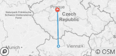 Prague and Austria Wild River - Culture and Adrenalin Tour - 3 destinations