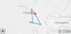 8-Day Sightseeing Tour around Chengdu, Sichuan Province, China - 5 destinations