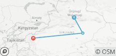Budget Xinjiang Tour: Urumqi, Turpan and Kashgar 6 Days - 3 destinations