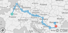 Grand Voyage of Europe with Paris, Transylvania & Bucharest (2021) - 28 destinations