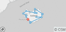 Circumnavigation of Iceland - 19 destinations