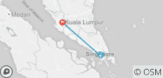 7 Days Singapore Malaysia Luxury Tour - 3 destinations