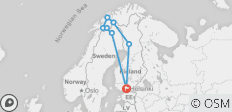 Grand Lapland Tour, Finland, Sweden and Norway - 8 destinations