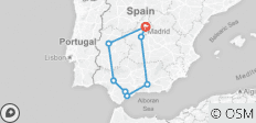 05 DAYS ANDALUCIA & TOLEDO - 8 destinations