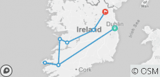 Irish Splendor (Dublin to Kingscourt) (Standard) - 8 destinations