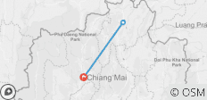 Chiang Mai & Chiang Rai in 5 days - 3 destinations