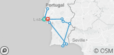 Sunny Portugal Estoril Coast, Alentejo & Algarve (Cascais to Lisbon) (2021) - 13 destinations