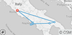 Country Roads Of Puglia & The Neapolitan Riviera - Small Group , 2021 (9 Days) - 10 destinations