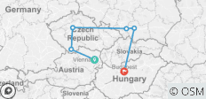 The Bohemian - End Vienna , Small Group , 2021 (9 Days) - 6 destinations
