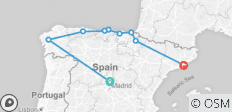 Northern Spain - Preview 2021 (11 Days) - 9 destinations