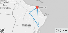 Classical Oman - 4 destinations