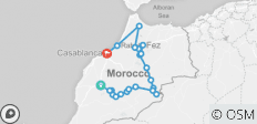 Private tour from Marrakesh highlight of Morocco - 21 destinations