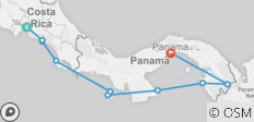 Cruising Costa Rica & Panama: Costa Rica to Panama - 8 destinations