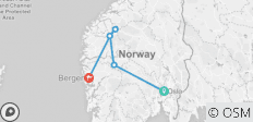 Highlights of Norway (Oslo to Bergen) (Standard) - 6 destinations