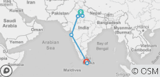 Private Incredible India Tour With Sri Lanka - 13 Days - 8 destinations