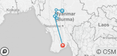 Burma Heritage by Bicycle - 7 destinations