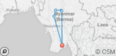 Burma Heritage by Bicycle - 6 destinations
