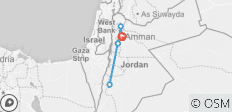 Classic Tour of Jordan Inclusive flight from Sydney Airport - 5 destinations