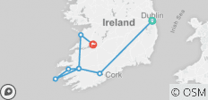Taste of Ireland (Tour B) - 6 Days/5 Nights - 8 destinations