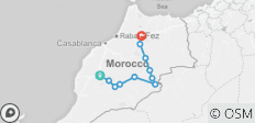 6 Days from Marrakesh to Fes through out the desert - 10 destinations