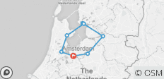 Amsterdam and Lake IJssel Cycle - 7 destinations