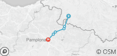 Camino - St Jean to Pamplona - 6 destinations