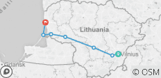 Lithuania - Vilnius to the Coast - 7 destinations