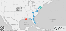 Eastern Discovery (Start New York City, End New Orleans, 14 Days) - 11 destinations