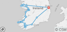 7 Day Driftwood Treasure Ireland Tour - 26 destinations