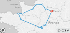 Normandy and The Loire Tour | 6-day Private Tour - 14 destinations