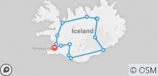 Guided Iceland Circle - 14 destinations