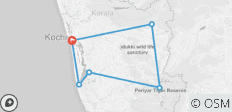Private Best of Kerala Tour - 7 Days - 6 destinations