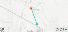 3 Days, 2 Nights Amboseli National Park From Nairobi - 3 destinations