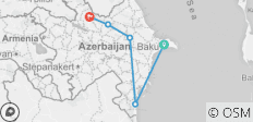 Agritour to Azerbaijan including historical sightseeings - 7 days multi-day tour - 5 destinations