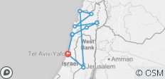 Coastal & Northern Israel 5 Day Package - 10 destinations