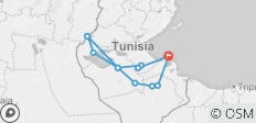 The Wonders of Southern Tunisia Adventure 7D/6N - 12 destinations