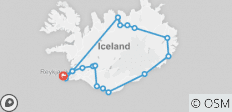 8 Days Around Iceland with roundtrip airport transfer - 17 destinations