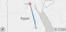 Live anew Adventure in Egypt (Cairo/Aswan/Luxor) from Frankfurt Airport - 4 destinations