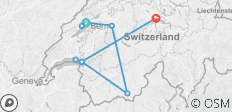 Switzerland: Hidden Trails & Majestic Peaks (Neuchatel to Lucerne) (2021) - 9 destinations