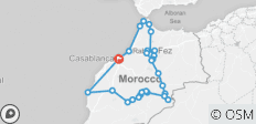 Morocco tour from Casablanca - 27 destinations