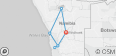 Highlights of Namibia (11 Days) - 7 destinations