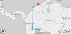 Hola Colombia (12 Days) - 5 destinations