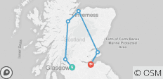 2021 Taste of Scotland - 5 Days/4 Nights - 6 destinations