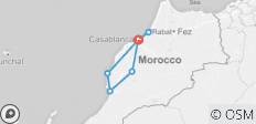 9 Days 8 Nights Casablanca, Marrakech, Essaouira and Agadir - 7 destinations