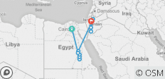 Journey Through Egypt and Jordan (15 destinations) - 15 destinations