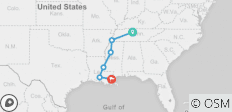 Country Roads of the Deep South (12 Days) - 6 destinations