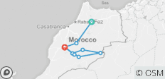 Essential Morocco & Desert Tour - 9 destinations