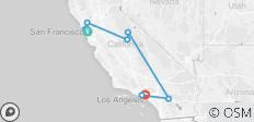 California Dreamin ( San Fran To Santa Monica - From May 2021 ) - 8 destinations